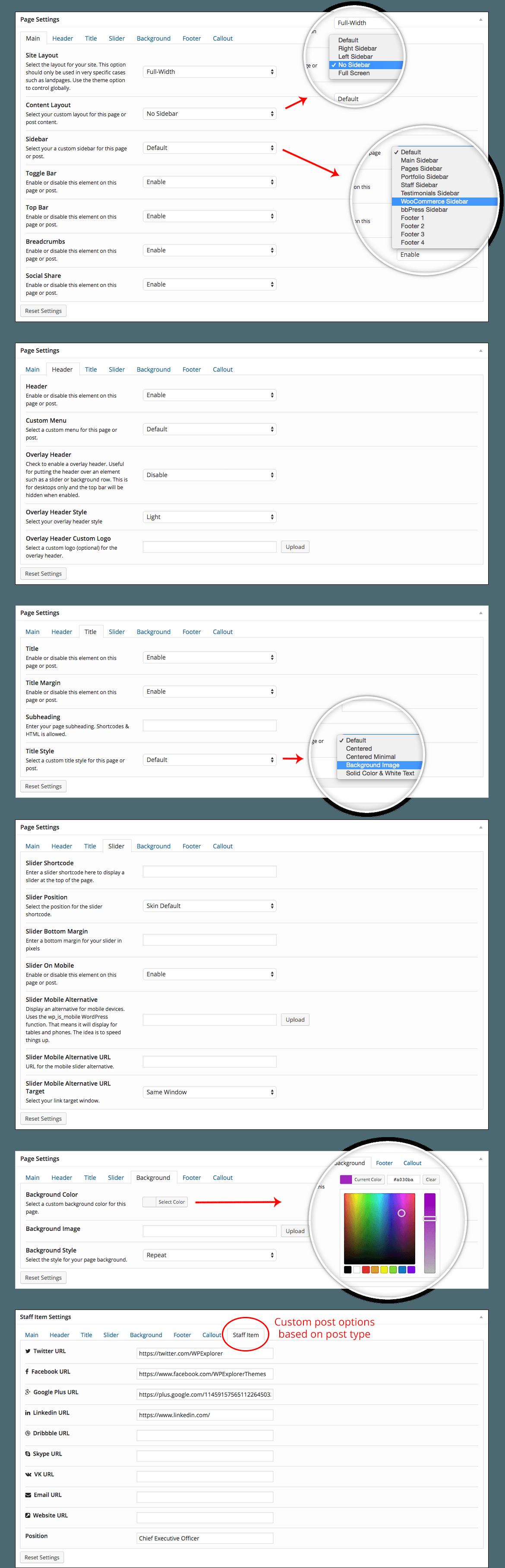 main-page-settings