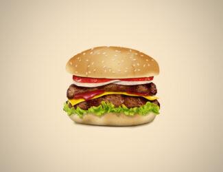 A Delicious Cheeseburger
